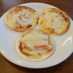 贅沢簡単レシピ・毛ガニのミニピザ