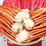 いい通販ショップからカニを買うと、もっとお得で格安の蟹様に出会える、ことがある。